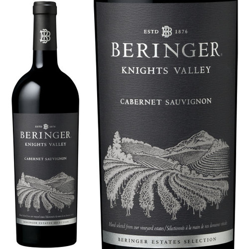 Beringer Knights Valley Cabernet 2015 Rated 90WA