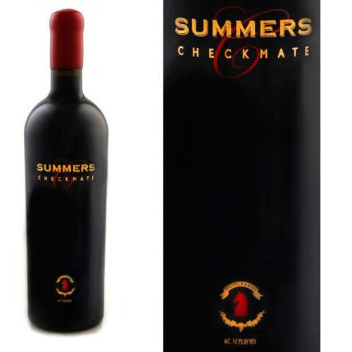 Summers Checkmate Napa Red