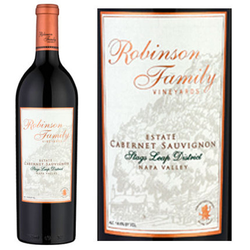Robinson Family Vineyards Stags Leap District Napa Cabernet