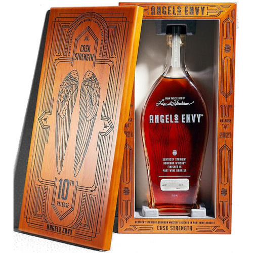Angel's Envy Cask Strength Port Barrel Finished Kentucky Straight Bourbon Whiskey 750ml