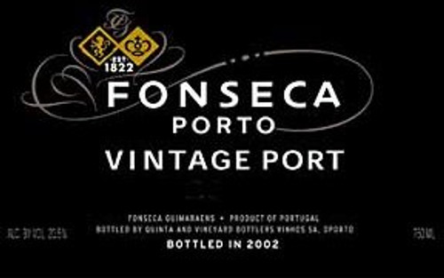 Fonseca Vintage Port 2000 375ML Half Bottle Rated 95