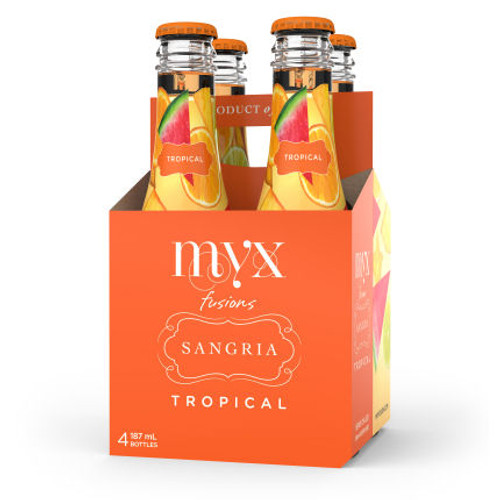 MYX Fusions Sangria Tropical 4-Pack 187ml