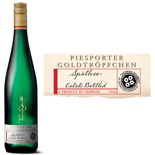 Schmitt Sohne Thomas Schmitt Private Collection Piesporter Goldtropfchen Spatlese Riesling