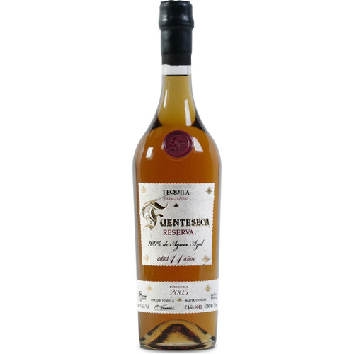 Fuenteseca Reserva Extra Anejo 2005 11 Year Old Tequila 750ml