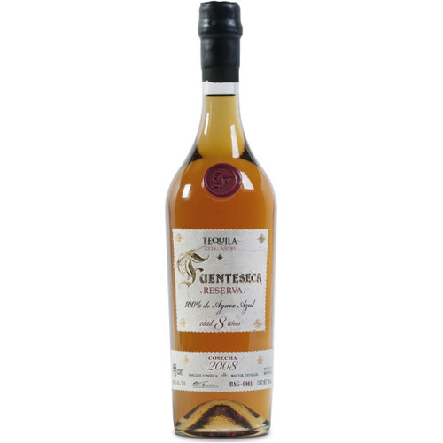 Fuenteseca Reserva Extra Anejo 2008 8 Year Old Tequila 750ml