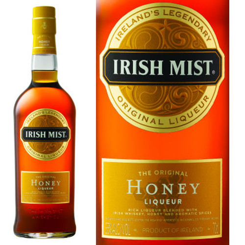 Irish Mist The Original Honey Whiskey Liqueur 750ml