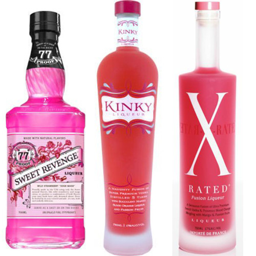 Valentine S Threesome Of Sweet Revenge X Rated And Kinky Liqueurs
