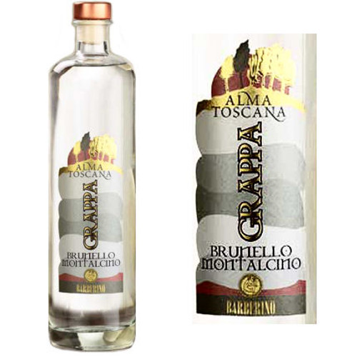 Barberino Alma Toscana Brunello Montalcino Grappa 750ml