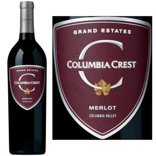 Columbia Crest Grand Estates Merlot Washington