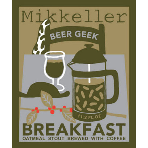 Mikkeller Beer Geek Breakfast Oatmeal Stout 330ml