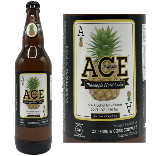 Ace Pineapple Hard Cider 22oz