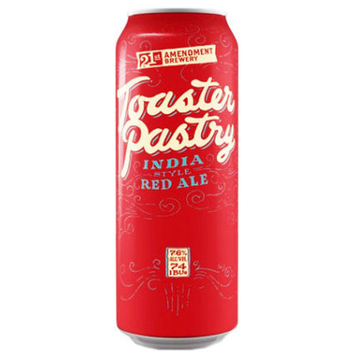 21st Amendment Toaster Pastry India Style Red Ale 19.2oz