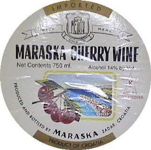 Maraska Cherry Wine Kosher (Croatia)