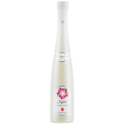 Yuki Nigori White Peach Flavored Sake 375ml