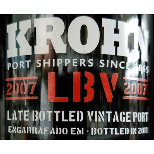 Krohn Late Bottled Vintage Porto 2007