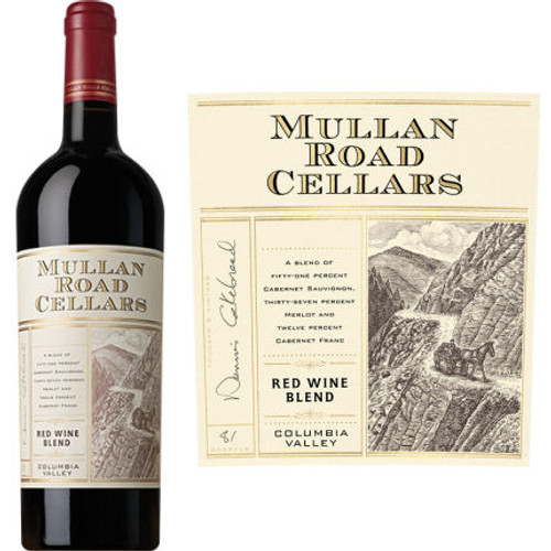 Mullan Road by Cakebread Columbia Valley Red Wine Washington