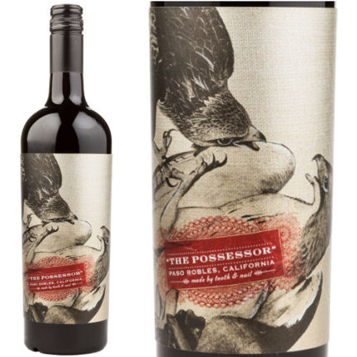 Tooth and Nail The Possessor Paso Robles Red Blend
