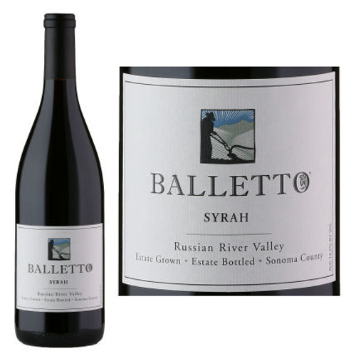 Balletto Russian River Estate Syrah