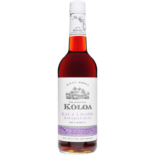 Koloa Kauai Dark Hawaiian Rum 750ml