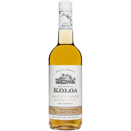Koloa Kauai Gold Hawaiian Rum 750ml