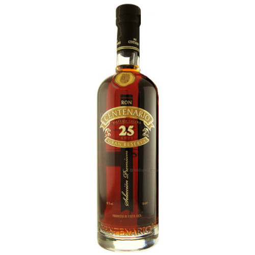 Ron Centenario 25 Year Old Gran Reserva Costa Rican Rum 750ml