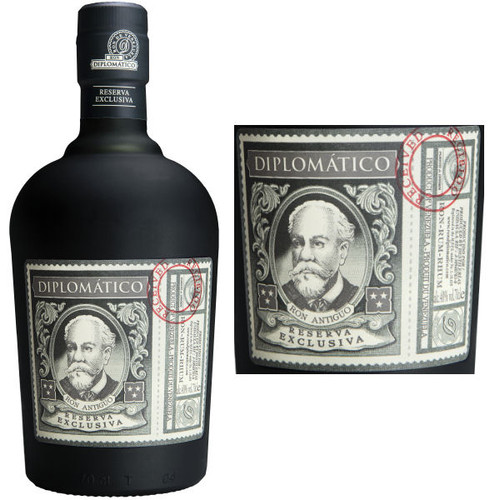 Diplomatico Reserva Exclusiva 12 Year Old Venezuelan Rum 750ml