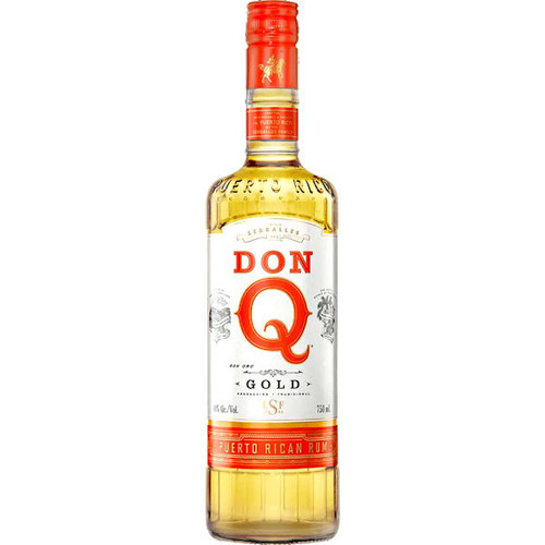 Don Q Gold Puerto Rican Rum 750ml