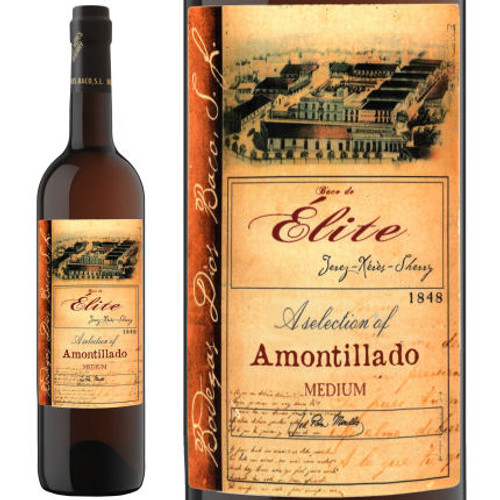 Dios Baco Elite Amontillado Medium Sherry Jerez 750ml