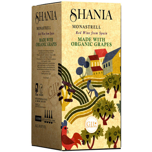 Shania Monastrell Bag in a Box 3L