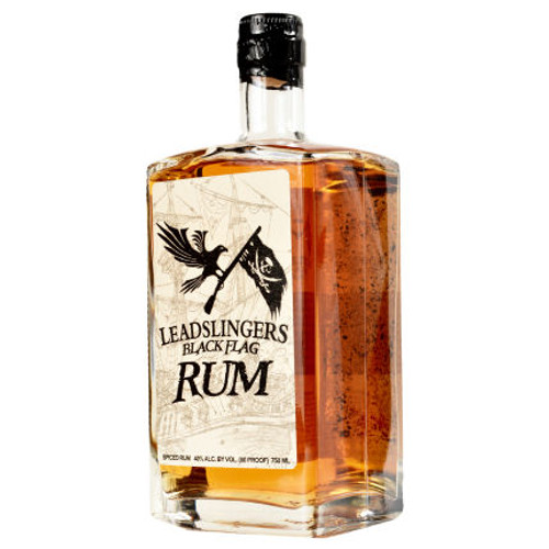 Leadslingers Black Flag Rum 750ml