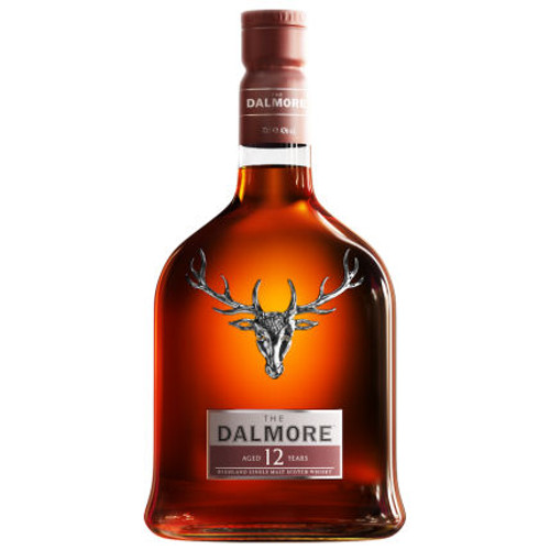 Dalmore 12 Year Old Highland Single Malt Scotch 750ml