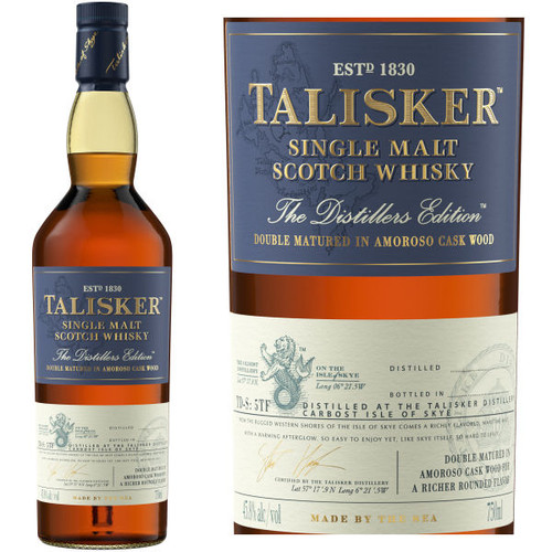 Talisker 2019 Distiller's Edition Skye Single Malt Scotch 750ml