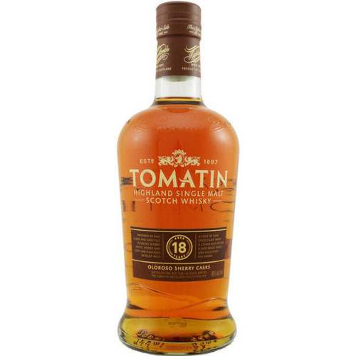 Tomatin 18 Year Old Oloroso Sherry Casks Highland Single Malt Scotch 750ml