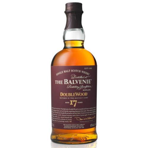 Balvenie 17 Year Old Doublewood Speyside Single Malt Scotch 750ml