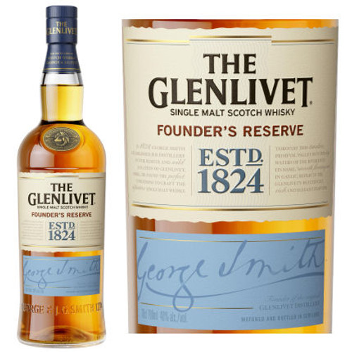 The Glenlivet Founders Reserve Single Malt Scotch 750ml