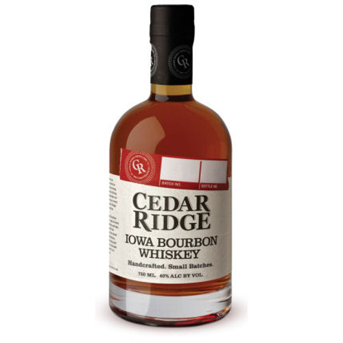 Cedar Ridge Iowa Bourbon Whiskey 750ml