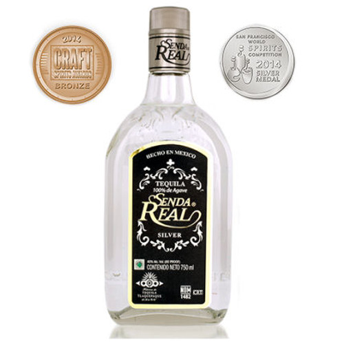 Senda Real Silver Tequila 750ml