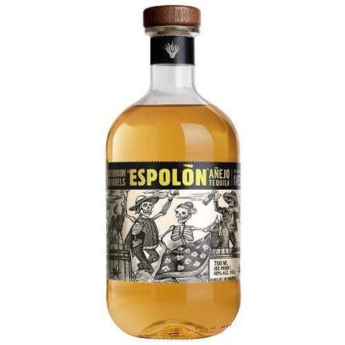 Espolon Bourbon Barrel Finished Anejo Tequila 750ml