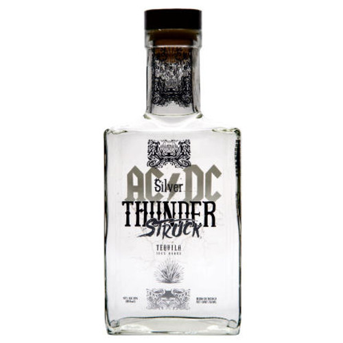 AC/DC Thunderstruck Silver Tequila 750ml