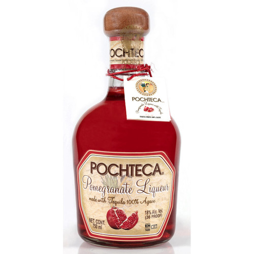 Pochteca Pomegranate Liqueur with Tequila 750ml
