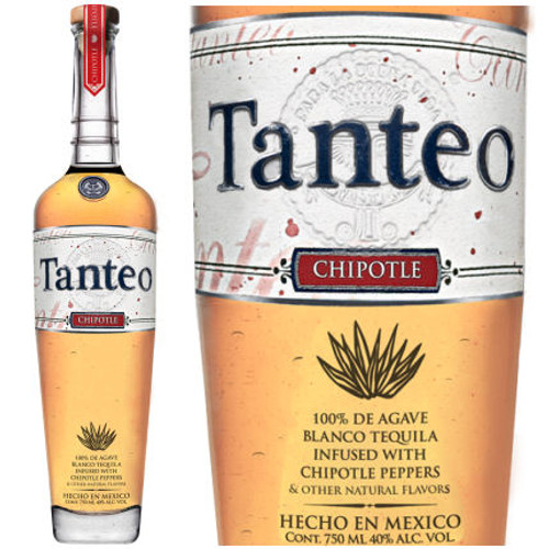 Tanteo Chipotle Infused Blanco Tequila 750ml