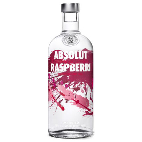 Absolut Raspberri Swedish Grain Vodka 750ml