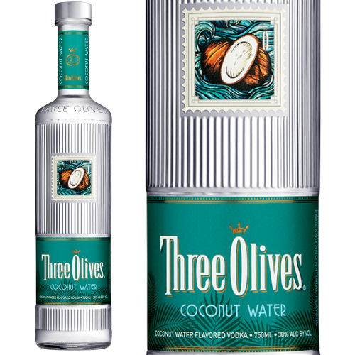 Three Olives Coconut Water Vodka 750ml