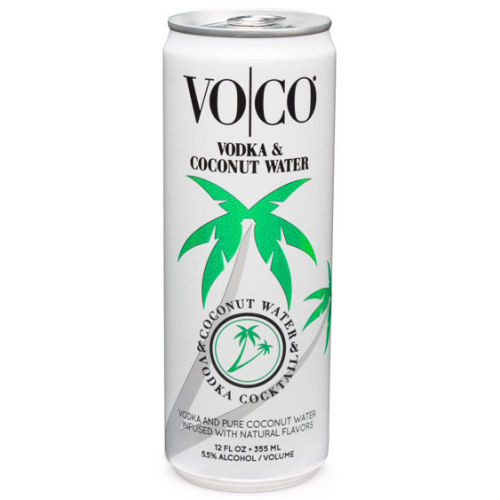 VO|CO Vodka Coconut Water Beverage 12oz