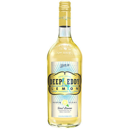 Deep Eddy Lemon Vodka 750ml