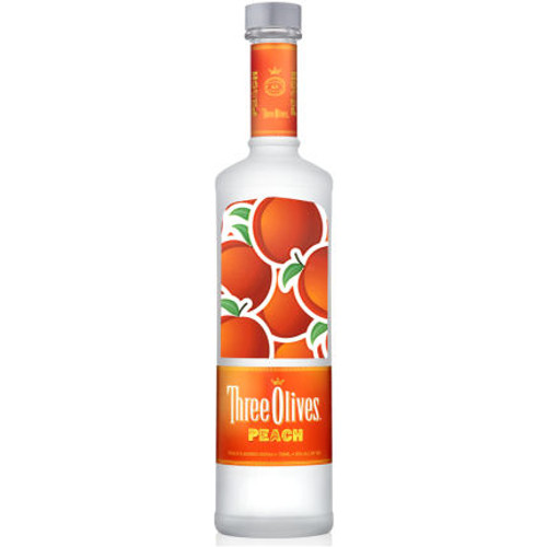 Three Olives Peach Vodka 750ml