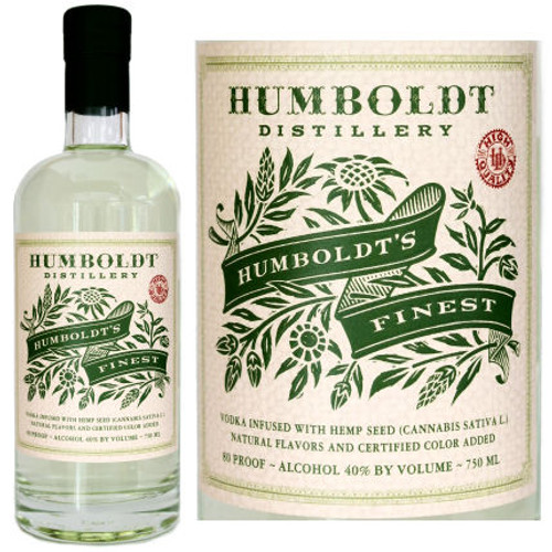 Humboldt's Finest Cannabis Sativa Infused Vodka 750ml