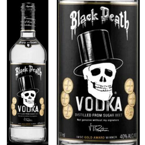 Black Death Sugar Beet Vodka 750ml
