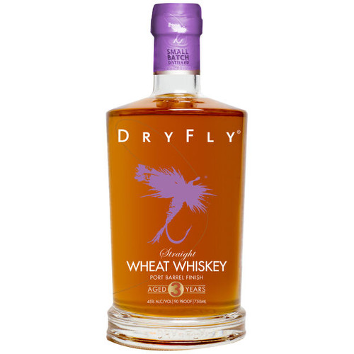Dry Fly Port Finished Wheat Whiskey 750ml