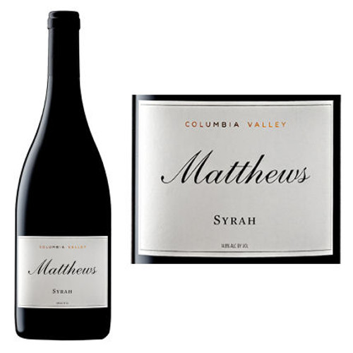 Matthews Columbia Valley Syrah